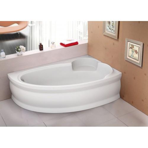 Ванна акрилова асиметрична Belina права 170х110 (панель + каркас)