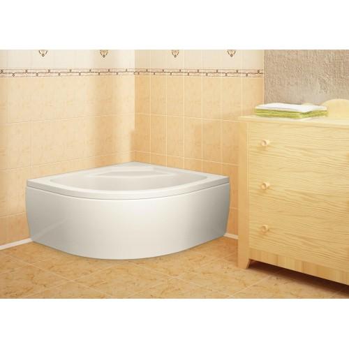 Піддон акриловий душовий глибокий Calisto 90х90 (панель + каркас)