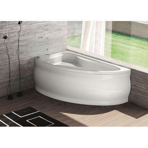 Ванна акрилова асиметрична Fabia ліва 150х90 (панель + каркас)