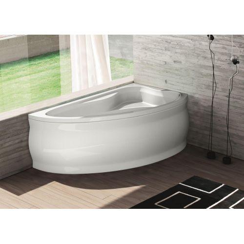 Ванна акрилова асиметрична Fabia права 160х100 (панель + каркас)