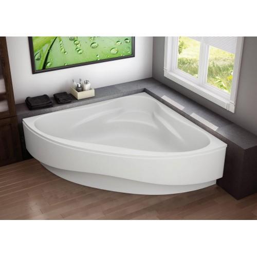 Ванна акрилова кутова Riviera 150х150 (панель + каркас)