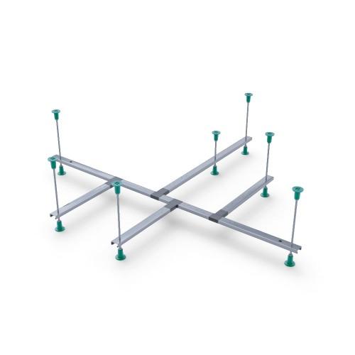 Каркас металічний універсальний для кутових ванн