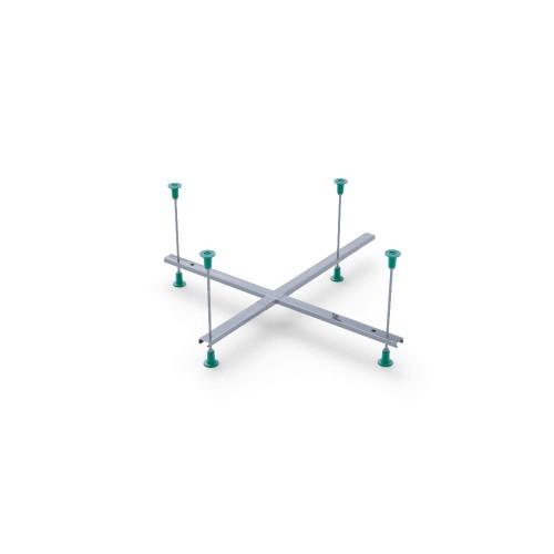Каркас металічний універсальний для глибоких душових піддонів